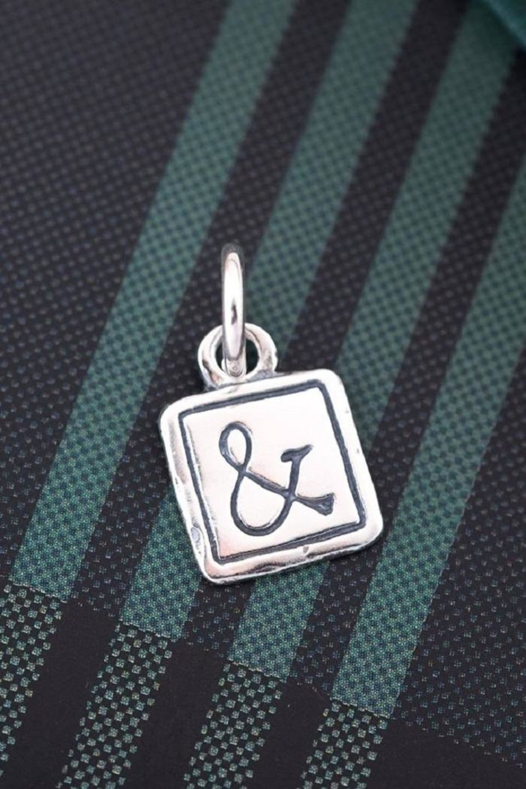 Bling It Around Again Ampersand Pendant - Back Cropped Image