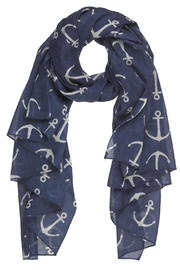 Bling It Around Again Anchor Scarf - Front cropped