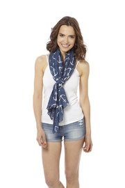 Bling It Around Again Anchor Scarf - Front full body