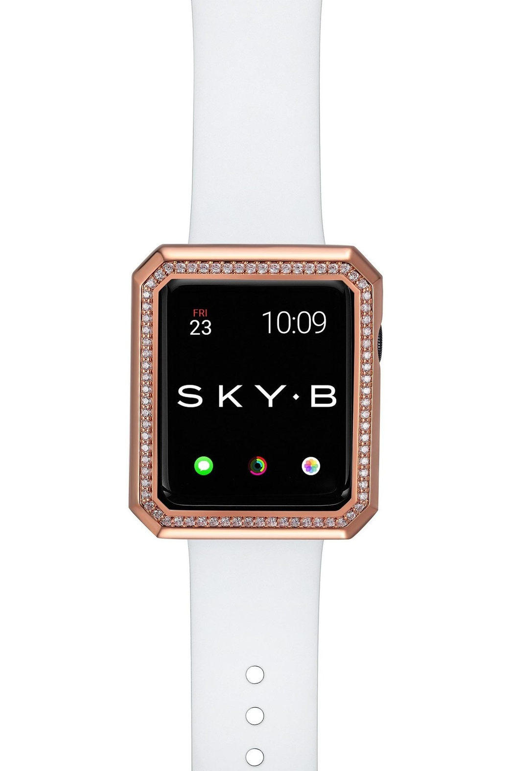Bling It Around Again Apple Watch Cover - Deco Halo, 40mm - Side Cropped Image