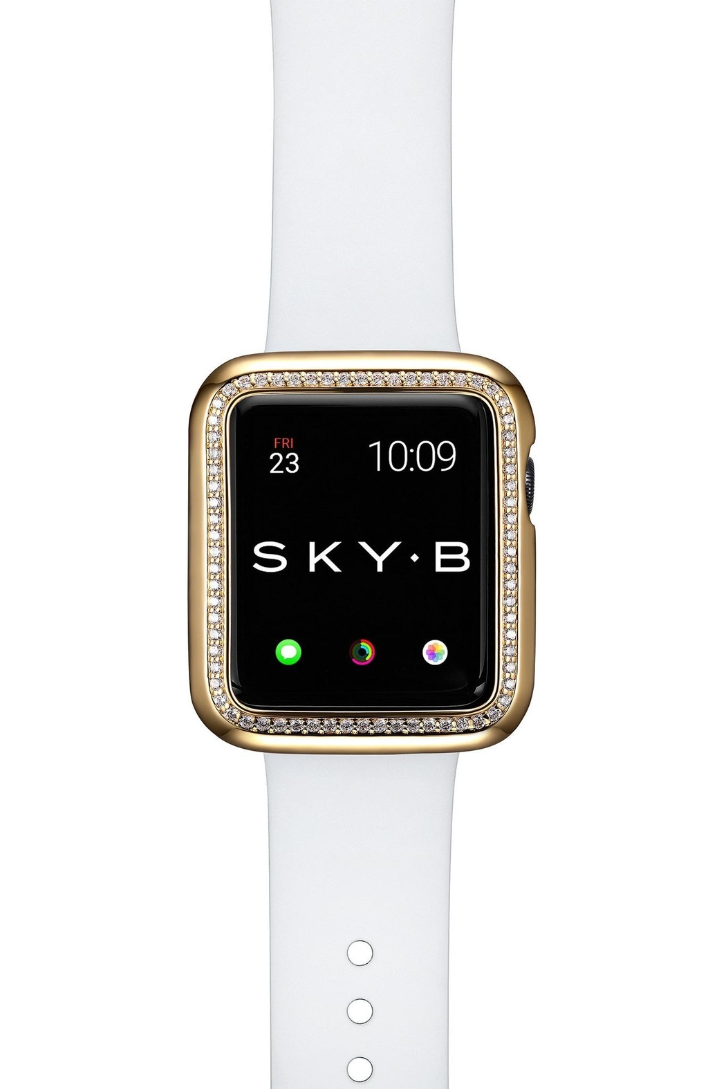Bling It Around Again Apple Watch Cover - Halo, 38mm - Side Cropped Image