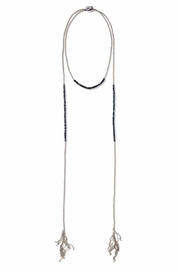 Bling It Around Again Beaded Layered Necklace - Front cropped
