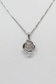 Bling It Around Again Dancing Diamond Necklace - Product Mini Image