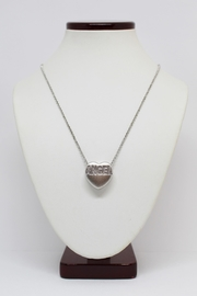 Bling It Around Again Diamond Angel Necklace - Front full body