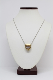 Bling It Around Again Diamond Crown Necklace - Front full body