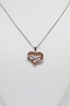 Bling It Around Again Diamond Heart Pendant - Product List Image