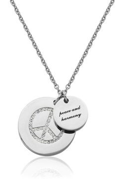 Bling It Around Again Double Disc Necklace - Alternate List Image