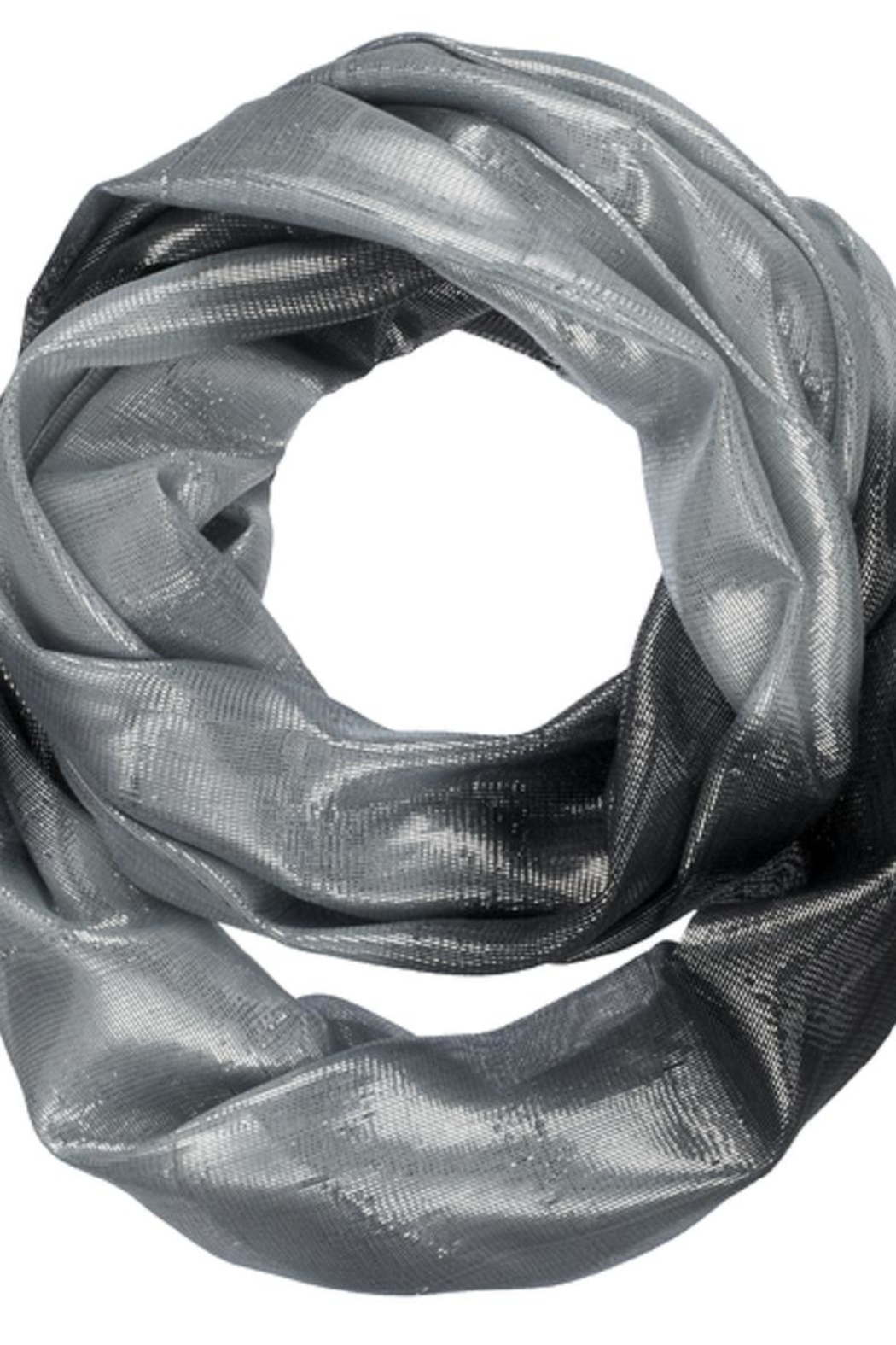 Bling It Around Again Shimmer Infinity Scarf - Main Image