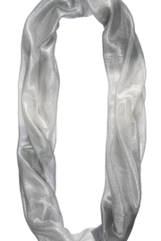 Bling It Around Again Shimmer Infinity Scarf - Front full body