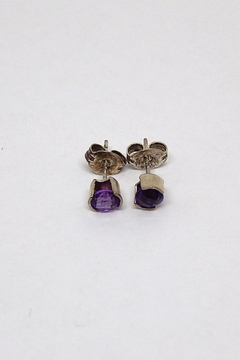 Bling It Around Again Sterling Birthstone Earrings - Alternate List Image