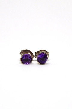 Bling It Around Again Sterling Birthstone Earrings - Product List Image