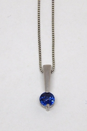 Bling It Around Again Sterling Birthstone Necklace - Front cropped