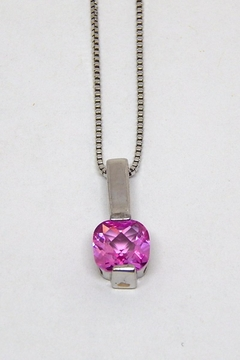 Bling It Around Again Sterling Birthstone Necklace - Product List Image