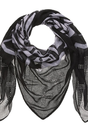 Bling It Around Again Studded Cross Scarf - Product Mini Image