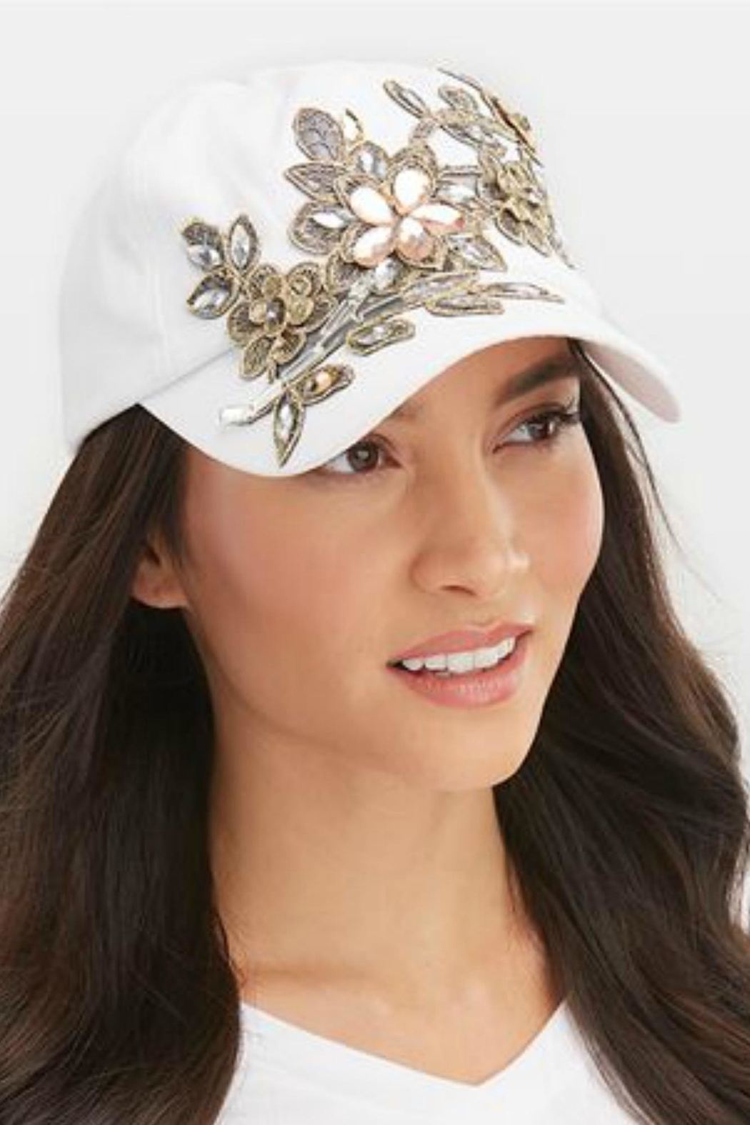 Coco + Carmen Blinged Hat - Front Cropped Image