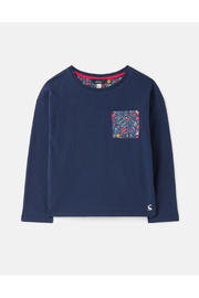 Joules Bliss Drop Shoulder Hotchpotch Top - Product Mini Image