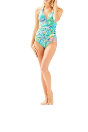 Lilly Pulitzer Bliss Halter Tankini-Top - Side cropped