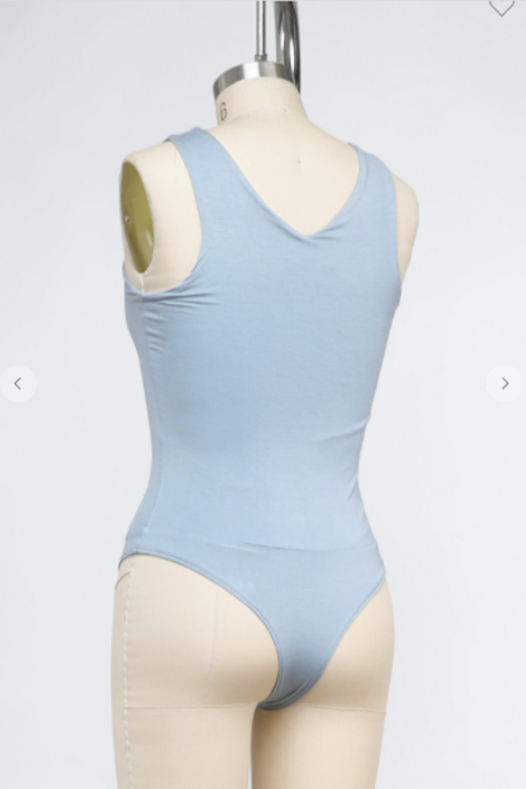 Final Touch Bliss V Neck Bodysuit - Side Cropped Image