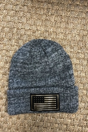 BLISSDANVILLE American Flag Beanie - Product Mini Image