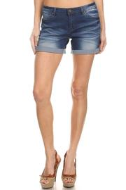 BLISSDANVILLE Reese Denim Shorts - Product Mini Image