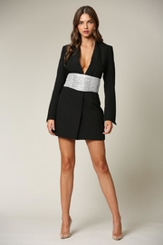 Blithe  Black Blazer Dress - Product Mini Image