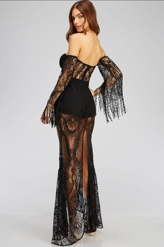 Blithe  Black Lace Dress - Alternate List Image