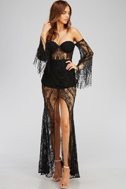Blithe  Black Lace Dress - Product Mini Image