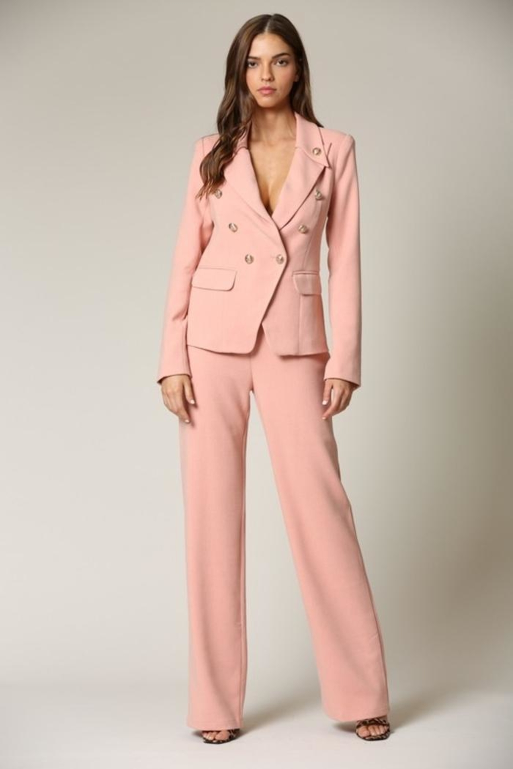 Blithe  Blush Two Piece Suit - Front Cropped Image
