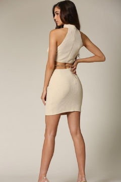 Blithe  Buttoned Cut-Out Dress - Alternate List Image