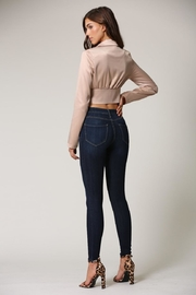 Blithe  Champagne Crop Top - Side cropped