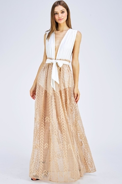 Blithe  Contrast Maxi Dress - Product List Image