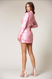 Blithe  Floral Tuxedo Dress - Side cropped