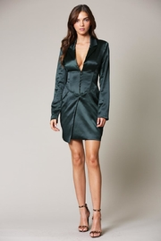 Blithe  Hunter Green Dress - Product Mini Image