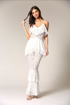 Blithe  Layered Lace Maxi - Product List Image