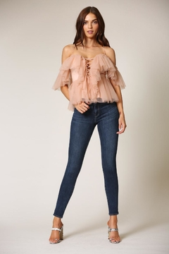 Blithe  Rose Cold-Shoulder Top - Product List Image