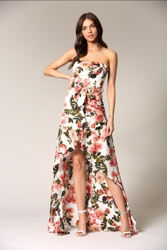 Blithe  Strapless Floral Dress - Product List Image