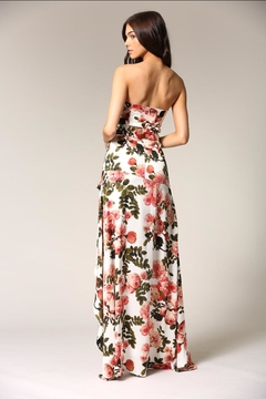 Blithe  Strapless Floral Dress - Alternate List Image