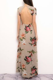 Blithe  Striped Floral Dress - Front full body