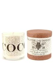 Blithe and Bonny Coconut Candle - Front cropped