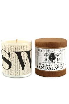 Blithe and Bonny Sandalwood Candle - Alternate List Image