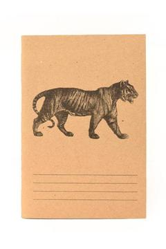 Blithe and Bonny Tiger Notebook - Product List Image
