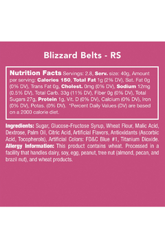 Candy Club Blizzard Belts - Alternate List Image