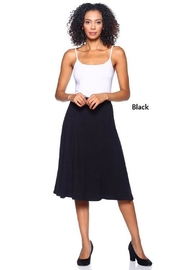 Capella Apparel Blk Midi Skirt - Product Mini Image