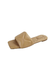 Bamboo Block-22 Quilted Slide - Front cropped