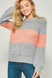 Promesa Block Knit Sweater - Product Mini Image