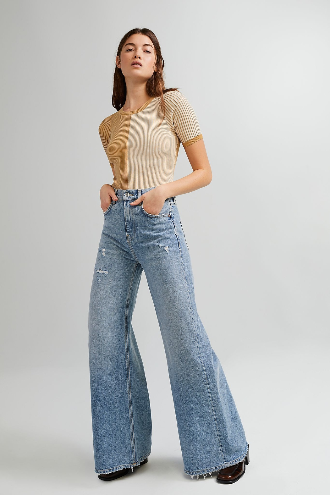 Free People  Block Party Bodysuit - Back Cropped Image