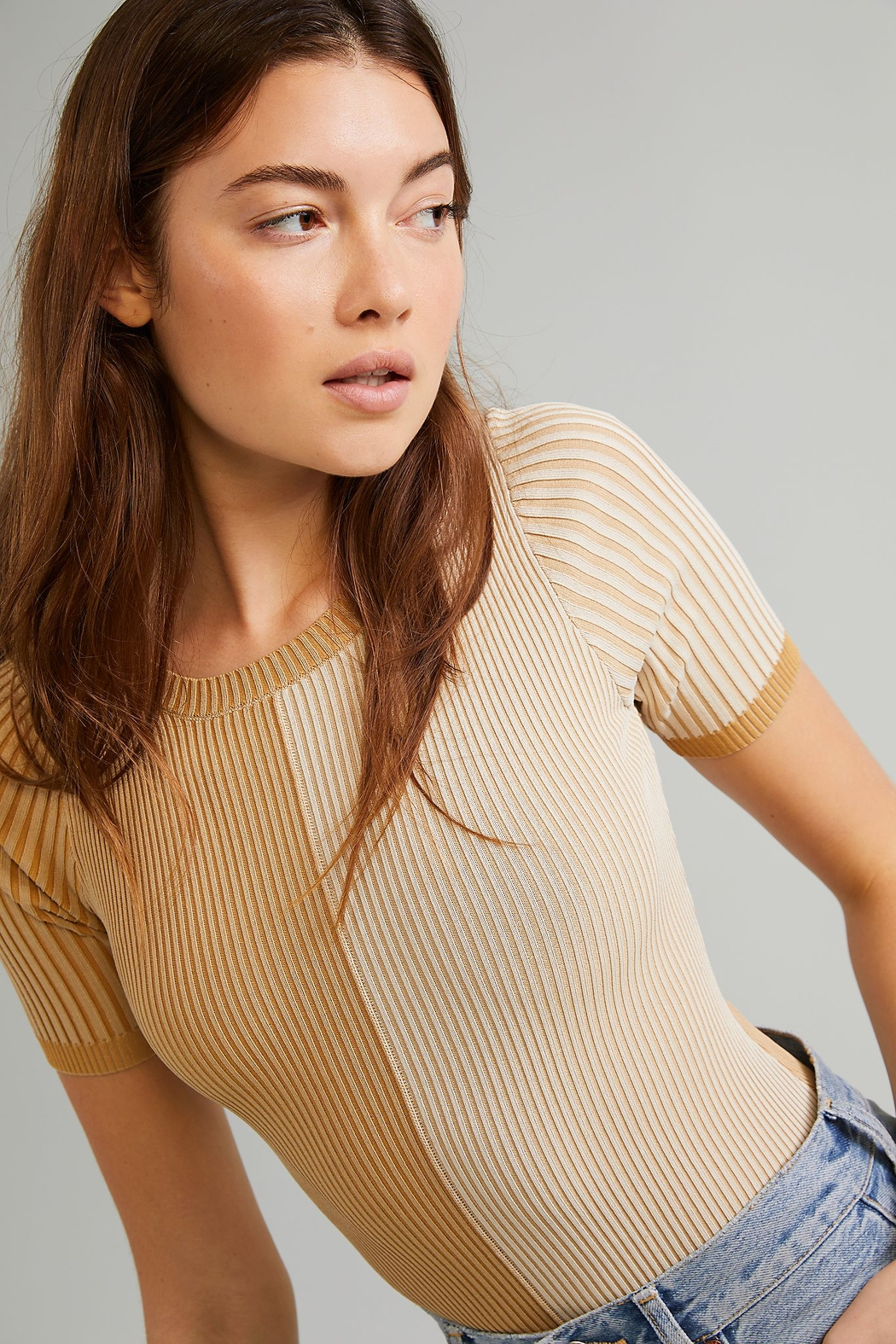 Free People  Block Party Bodysuit - Side Cropped Image