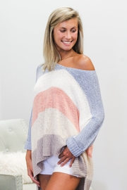 She + Sky Block Party Sweater - Product Mini Image