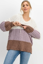 Paper Crane BLOCK PARTY SWEATER - Front cropped