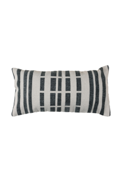 Homart Block Print Lumbar Pillow - Product List Image